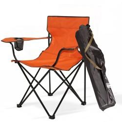 Bahex Tekli Katlanır Çantalı Kamp Sandalyesi