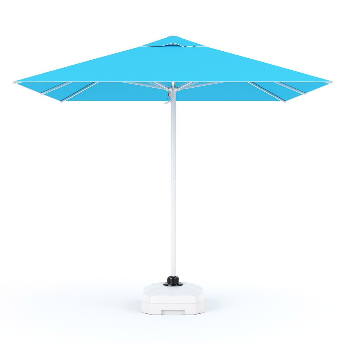 Bahex Parasol Mega Manuel 250 X 250 Havuz Şemsiyesi + 70 Lt. Bidon