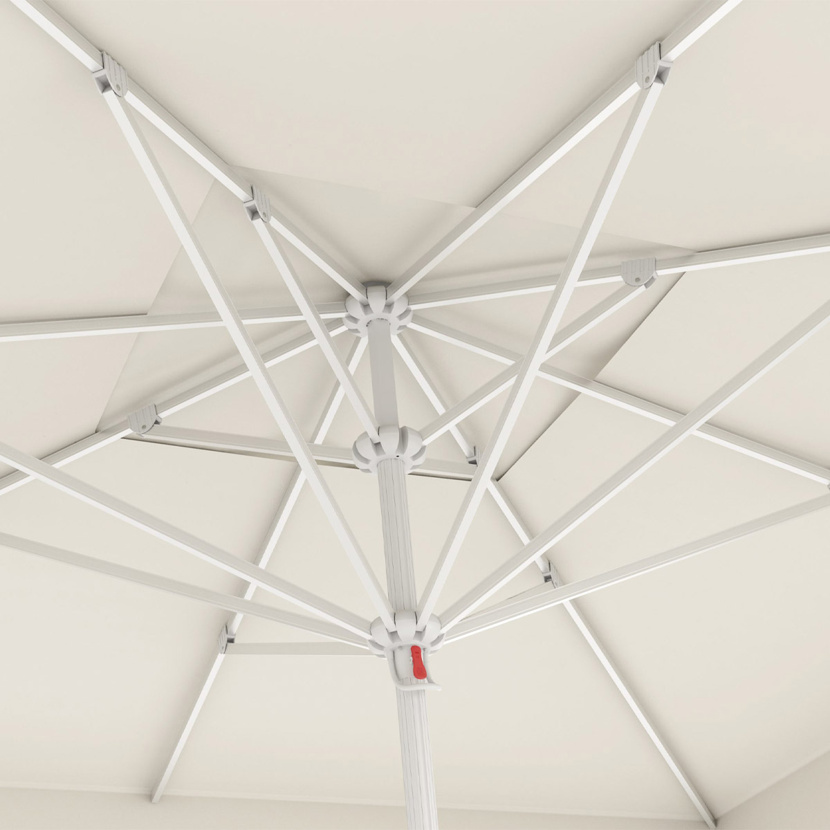 Bahex Parasol Manuel Teleskopik Şemsiye 4 X 4 – KREM